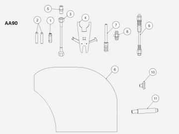 Düsenschlüssel für AA90