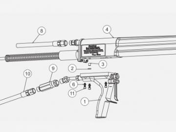 GUN BODY FOR NO 2