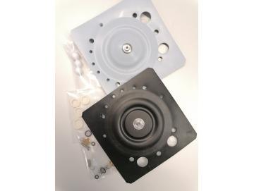 Ersatzteilpaket/Verschleißteilsatz für Devilbiss LUX Membranpumpen mit PTFE Vollkugeln