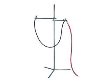 Air dryer frame with air hose