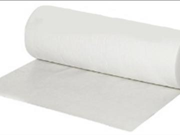 Dust protection floorliner - adhesive on one side