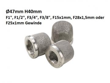 Suction strainer for airless devices for Graco, Kremlin