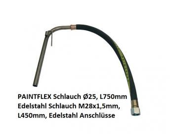 Ansaugschlauch, Edelstahl