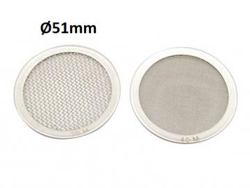 Disc filter screen support s.steel