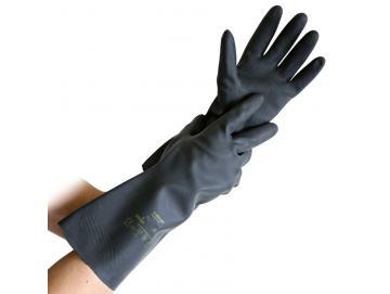 Chemical protective gloves neoprene/latex