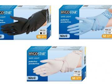 "Hygostar nitrile gloves ""Safe Light"""