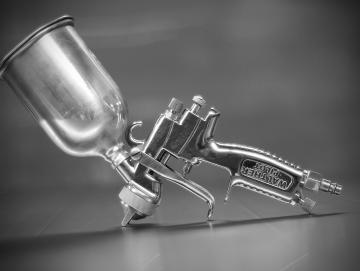 FAS erklärt: Manuelle Hand-Reinigung Farbspritzpistole-Lackierpistole