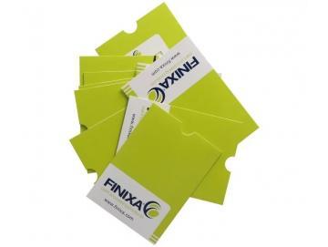 Finixa envelopes for spray sample sheets